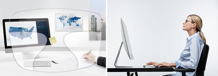 e2e4a0e948107 Les personnes qui portent des verres progressifs regardent leur écran d  ordinateur d une manière totalement différente. Parce que les verres  progressifs ...